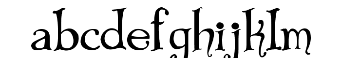 Bibliotheque Font LOWERCASE