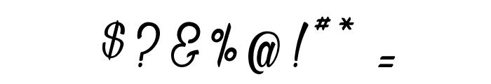 Bichette Font OTHER CHARS