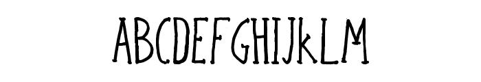 Bicho plumon Font UPPERCASE