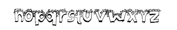 Bicho* Font LOWERCASE