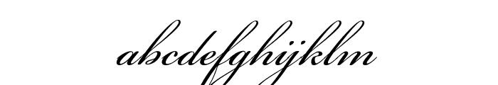 Bickham Script MM Font LOWERCASE
