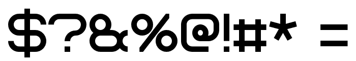 Bicubik Font OTHER CHARS