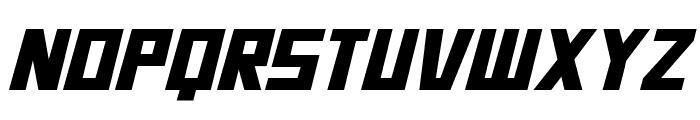 Bidan Bold Italic Font UPPERCASE