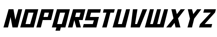 Bidan Italic Font UPPERCASE