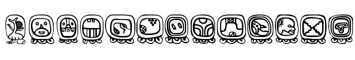 BienMaya Font LOWERCASE