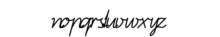 BienchenSAS-Italic Font LOWERCASE