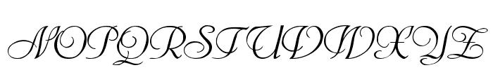Bienville Font UPPERCASE