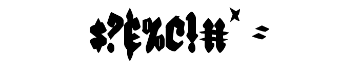 Bierg?rten Condensed Font OTHER CHARS