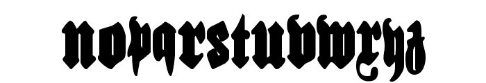 Bierg?rten Condensed Font UPPERCASE