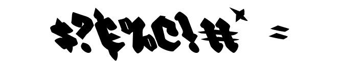 Bierg?rten Leftalic Font OTHER CHARS