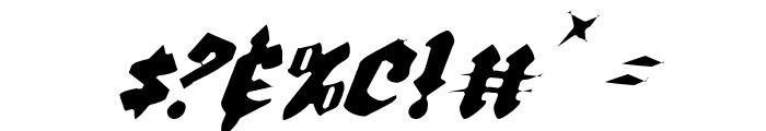 Bierg?rten Light Italic Font OTHER CHARS