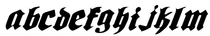 Bierg?rten Light Italic Font UPPERCASE