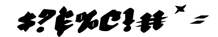 Bierg?rten Rotalic Expanded Font OTHER CHARS