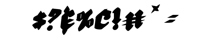Bierg?rten Rotalic Font OTHER CHARS