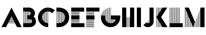 Bifur Font LOWERCASE