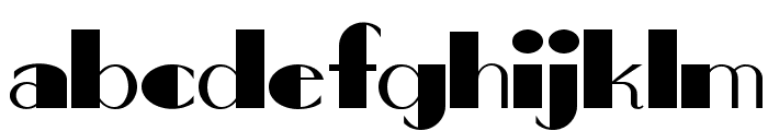 Big Apple NF Font LOWERCASE