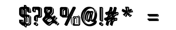 Big Blocko Font OTHER CHARS