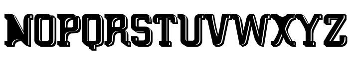 Big Blocko Font UPPERCASE