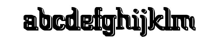 Big Blocko Font LOWERCASE