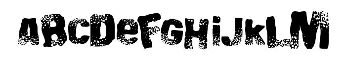 Big Bloke BB Font LOWERCASE