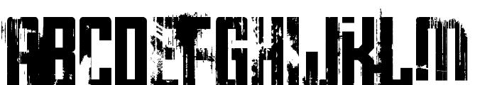 Big Bro's Watch Font UPPERCASE