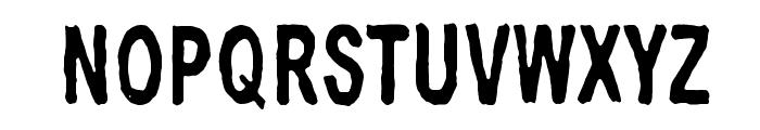 Big Bubu Font UPPERCASE