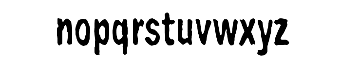 Big Bubu Font LOWERCASE