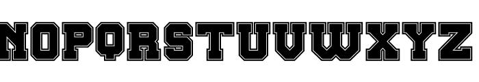 Big Campus Bold Font UPPERCASE