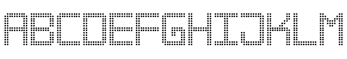 Big Daddy LED TFB Font UPPERCASE