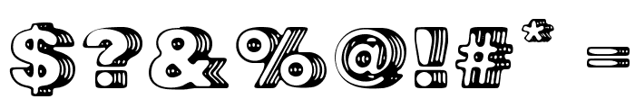 Big Designer Font OTHER CHARS