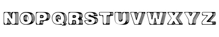 Big Designer Font UPPERCASE