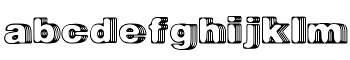 Big Designer Font LOWERCASE