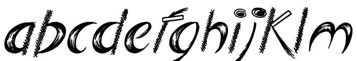 Big Easy Font LOWERCASE
