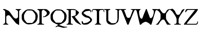 Big Ham Font UPPERCASE