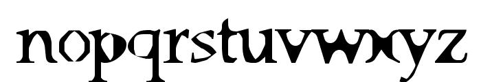 Big Ham Font LOWERCASE