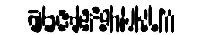 Big-Loada-Splatter Font LOWERCASE