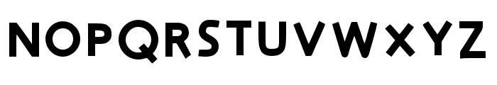 Big One Regular Font UPPERCASE