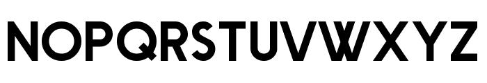 Big Orange Cyrillic Font UPPERCASE