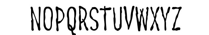 Big Ruckus AOE Font UPPERCASE