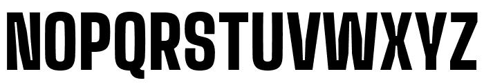 Big Shoulders Display Black Font UPPERCASE
