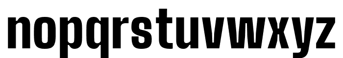 Big Shoulders Display Black Font LOWERCASE