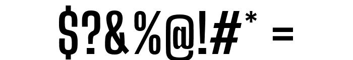 Big Shoulders Display Bold Font OTHER CHARS