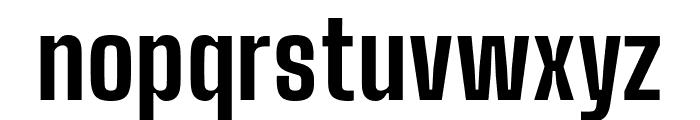 Big Shoulders Display ExtraBold Font LOWERCASE