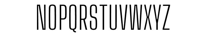 Big Shoulders Display Light Font UPPERCASE