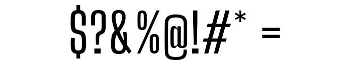 Big Shoulders Display Medium Font OTHER CHARS