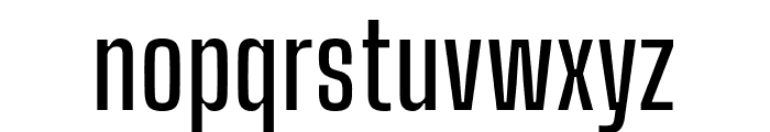 Big Shoulders Display SemiBold Font LOWERCASE