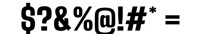 Big Shoulders Text Black Font OTHER CHARS
