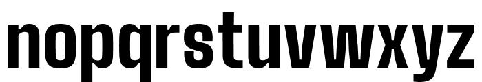 Big Shoulders Text Black Font LOWERCASE