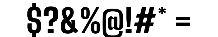 Big Shoulders Text ExtraBold Font OTHER CHARS