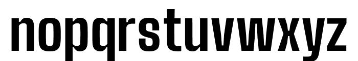 Big Shoulders Text ExtraBold Font LOWERCASE